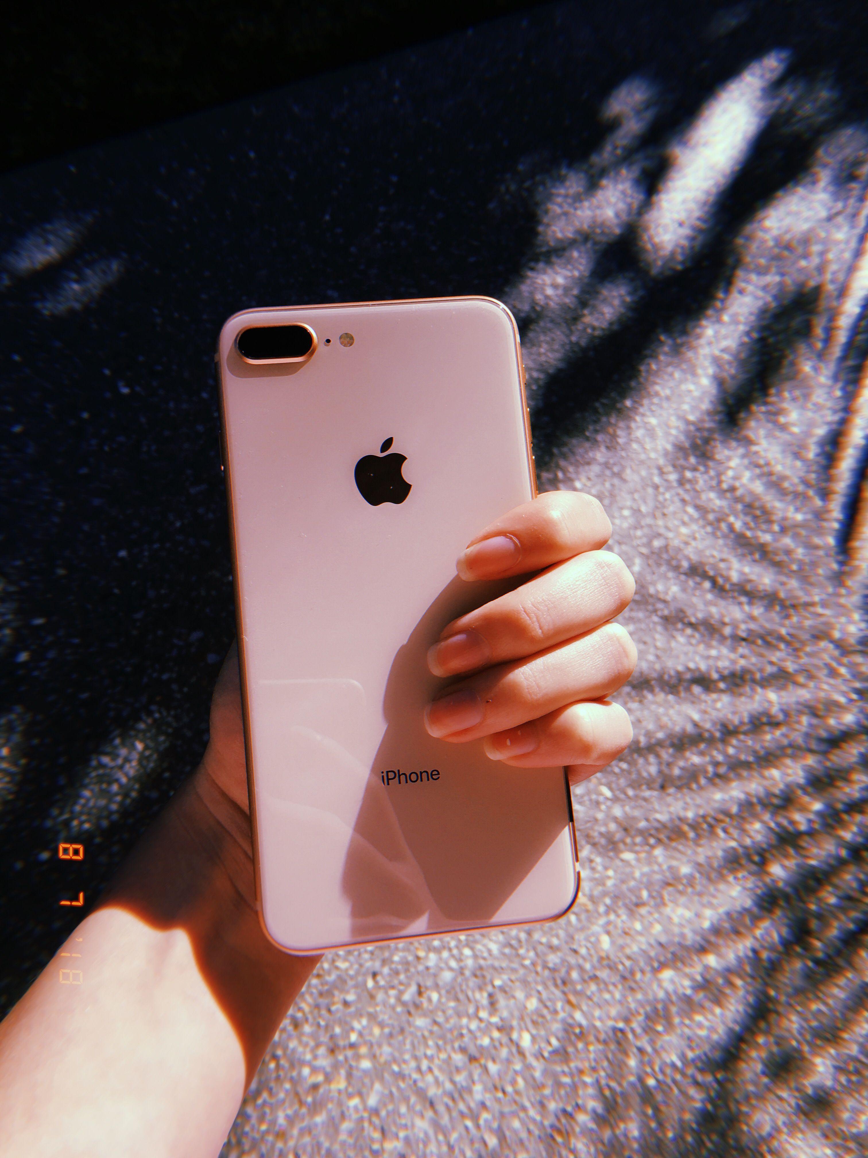 Iphone 8 Plus Rose Gold Coisas De Iphone Acessorios Iphone Iphone 8 Plus Capinhas