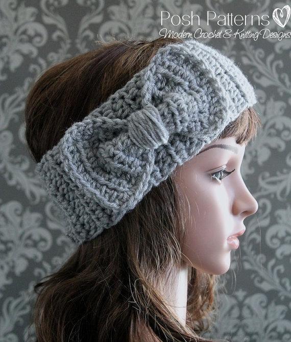 Crochet Pattern Crochet Headband Pattern Baby Crochet Pattern