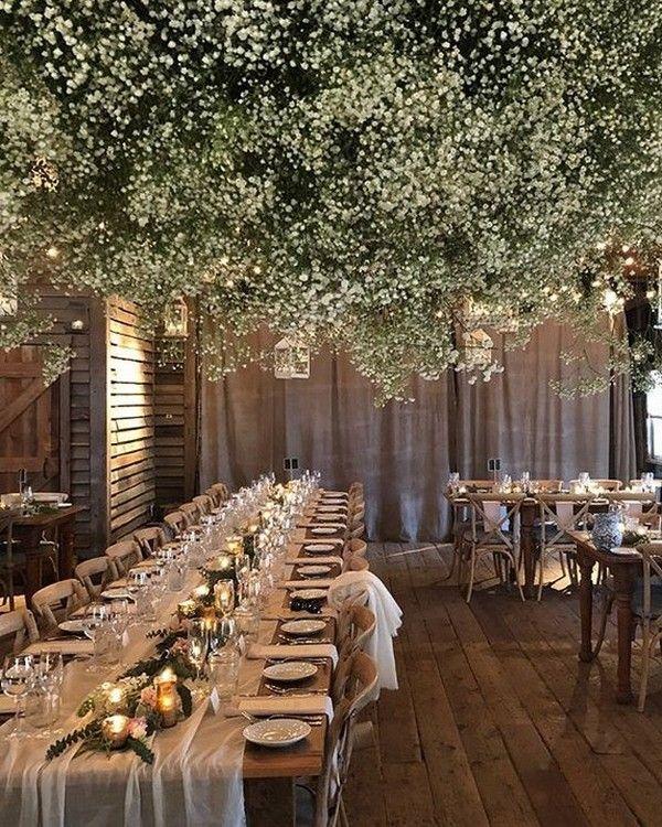 20 Trendy Rustic Fall Greenery Wedding Ideas