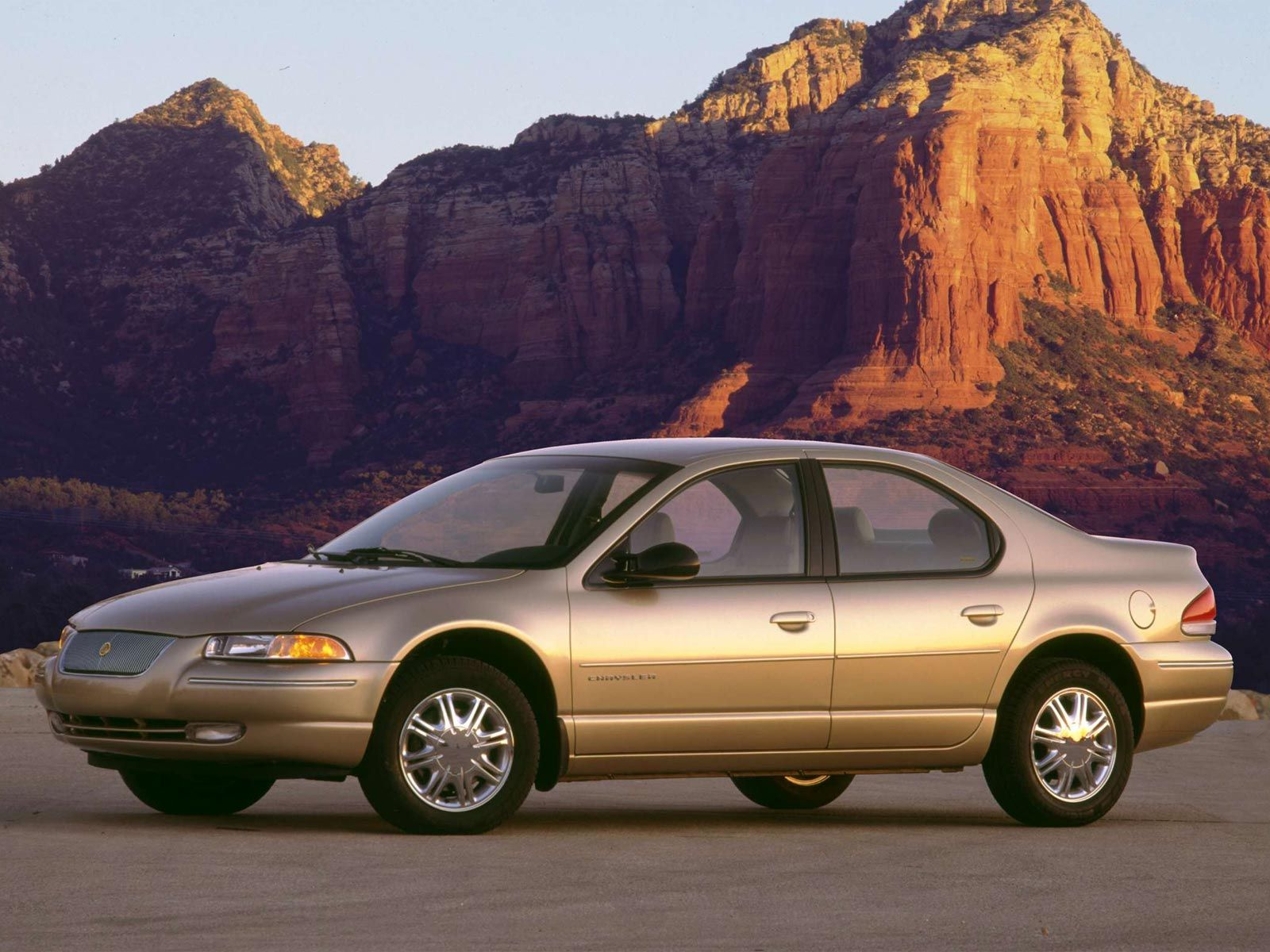 Old Gold, 1999 Chrysler Cirrus, still driving back and