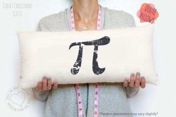 Pi Symbol Pillow Geek Gift Science Gift 314 Symbol Pillow
