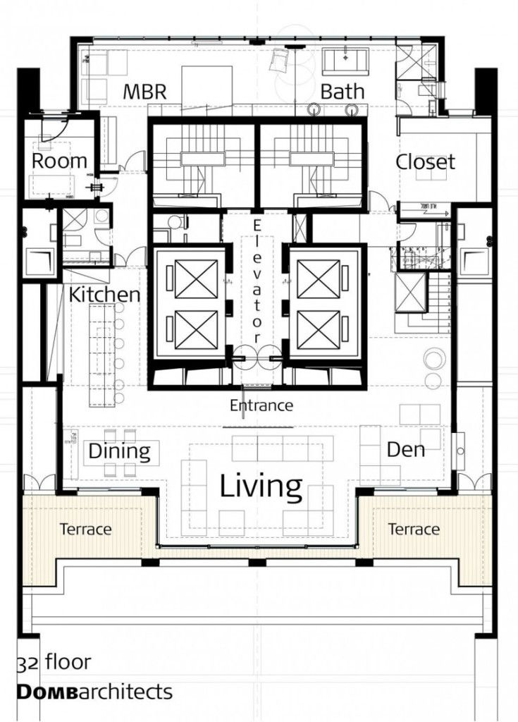 Home Apartment Opera Penthouse Sketch Plans An Exclusive Penthouse With Amazing Panoramic Grand Opera Penthouse With Inspiri Penthouse Architect Architecture