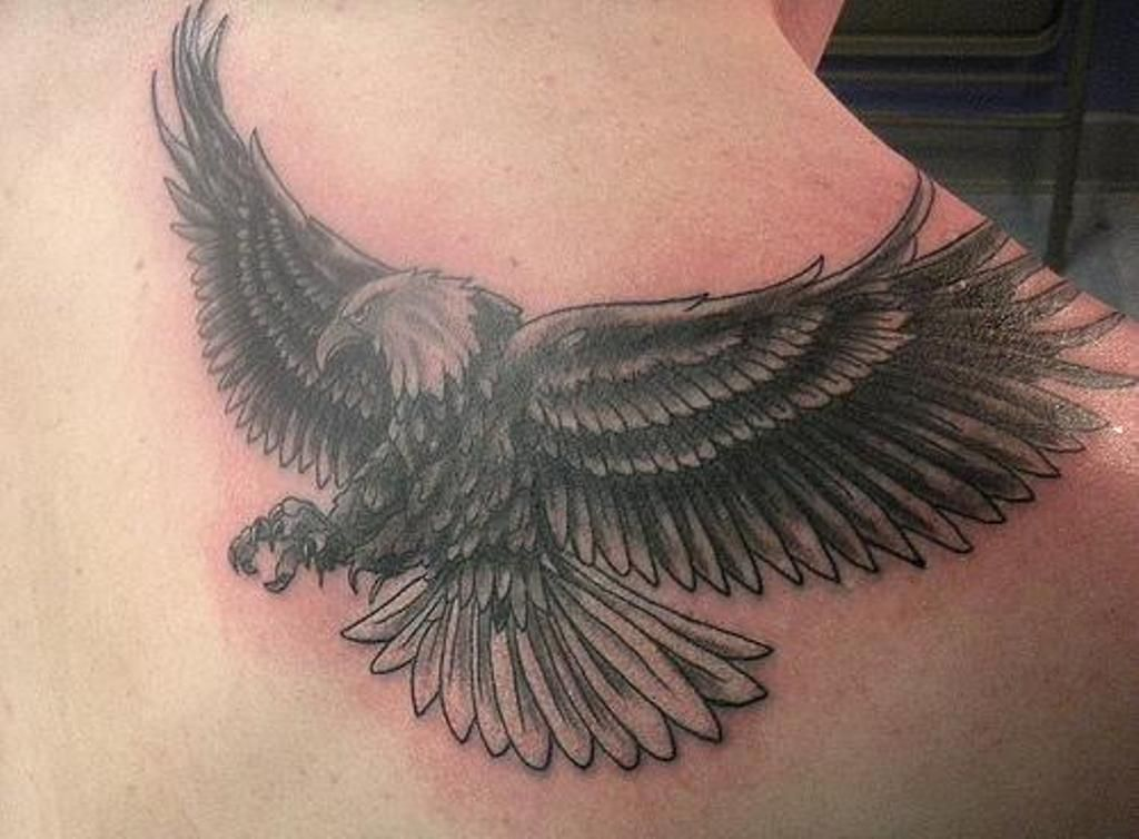 Eagle Tattoo Eagle Tattoo On Back Download Hd Wallpapers
