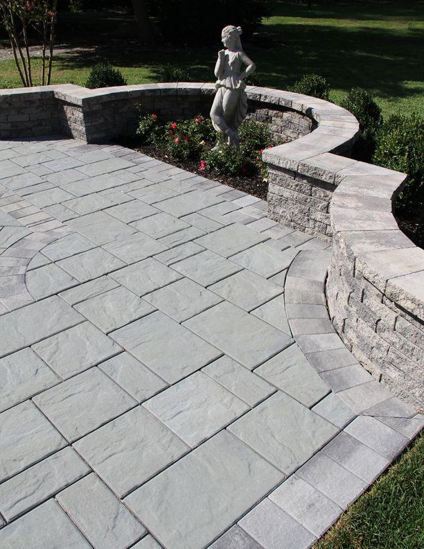 Blue Ridge Nicolock Interlocking Paving Stones And Retaining Walls Patio Pavers Design Outdoor Renovation Landscaping Retaining Walls