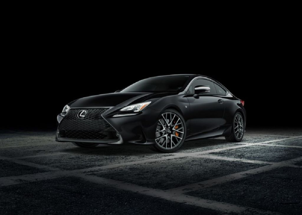 Admire the latest Lexus RC FSport Black Line Special