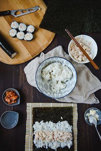 How To Make Chamchi Kimbap