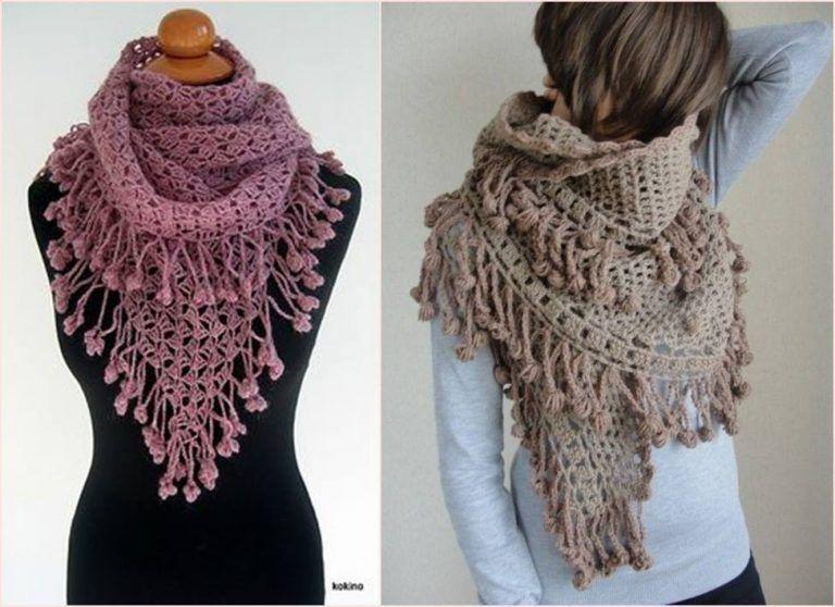 3fc117b6f Modelos Maravillosos Bufandas en Crochet   Ideas de emprendimiento ...