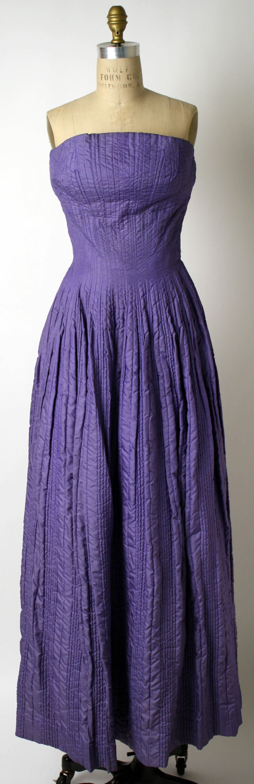 Dress, Ceil Chapman (American, born 1912): ca. late 1940\'s, American ...