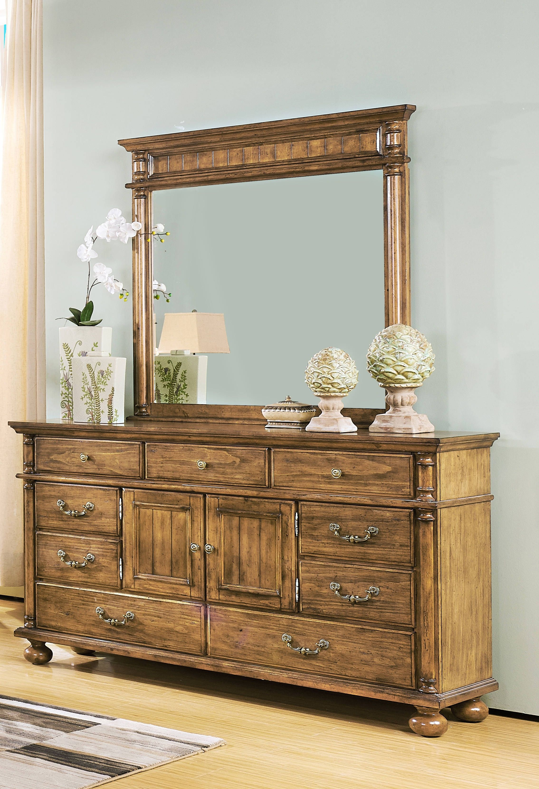 new classic furniture cumberland dresser and mirror new classic rh pinterest com