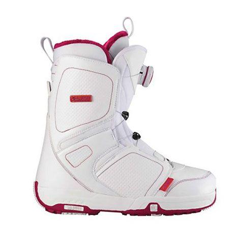 Salomon Pearl Boa Boot Women S Snowboard Boots Snowboarding Women Boots