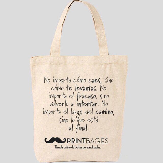 Pin De Printbag En Bolsas Personalizas Con Frases Bolsas