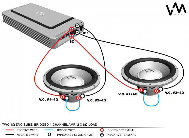 4ohm dvc sub wiring car audio electrics supraforumsau