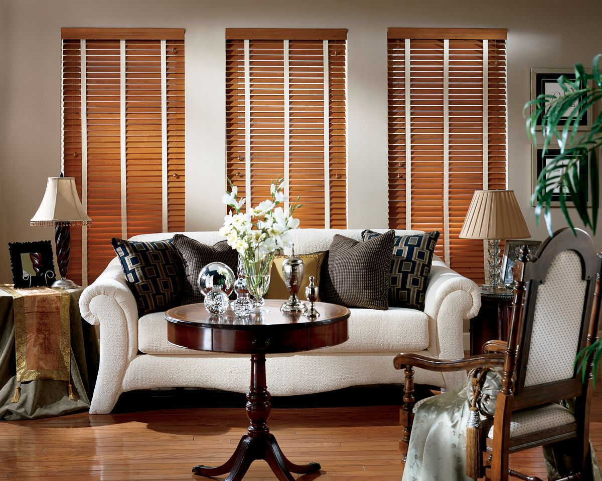 Hunter Douglas Country Woods Blinds Window Treatments