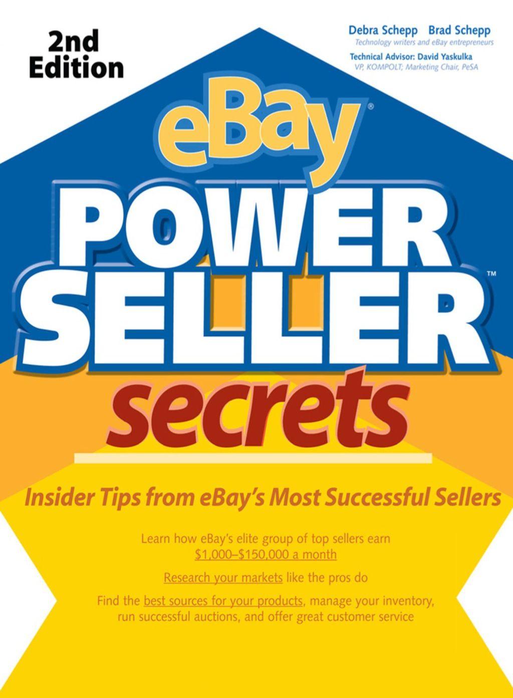 Ebay Powerseller Secrets 2e Ebook Ebay Selling On Ebay The Secret