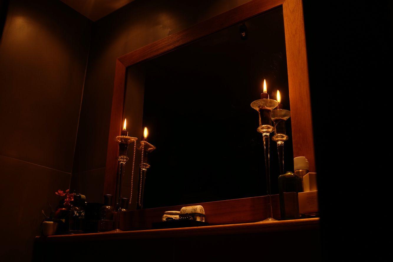 decoration homedecoration  bathroom candles  light