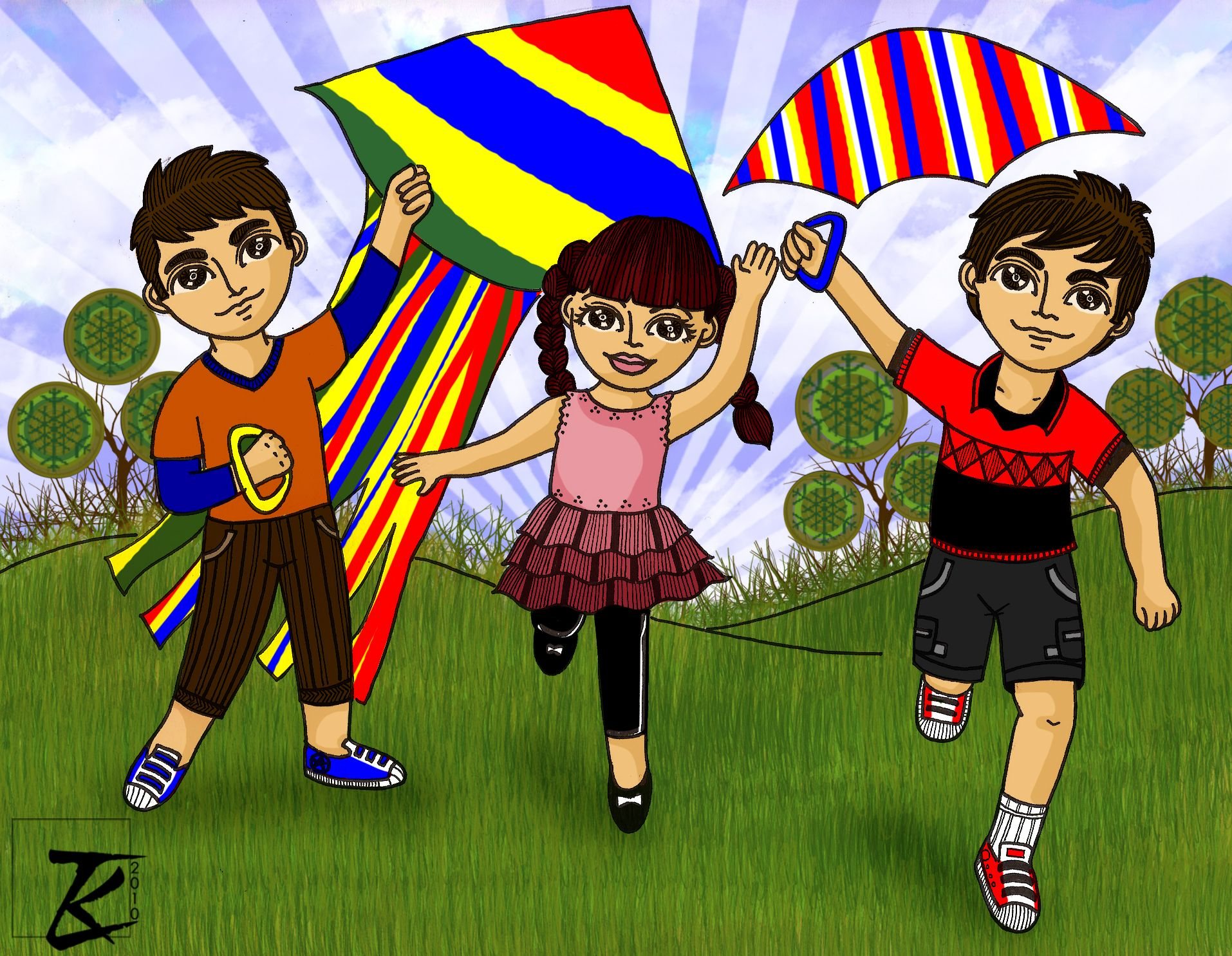 Hey there fellow talentado! pictures of children flying kites