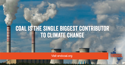 Coal is the world's dirtiest energy source. Each year, hundreds of thousands of people die from coal pollution. Millions more suffer from coal-related illnesses. And the continued burning of coal is literally cooking our planet. Its time to end our addiction to coal and embrace a truly clean energy future.