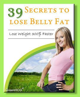 39 Secrets To Lose Belly Fat - lose weight 300% faster