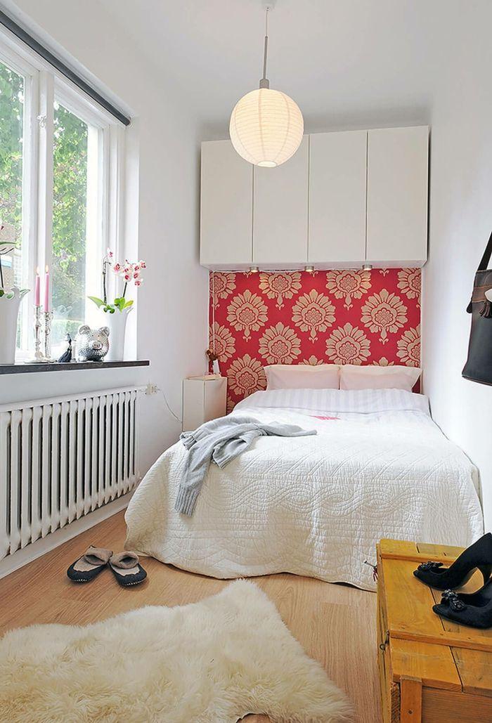 1001 + Ideen für kleine Räume einrichten zum Entlehnen   Kleines schlafzimmer, Schlafzimmer ...
