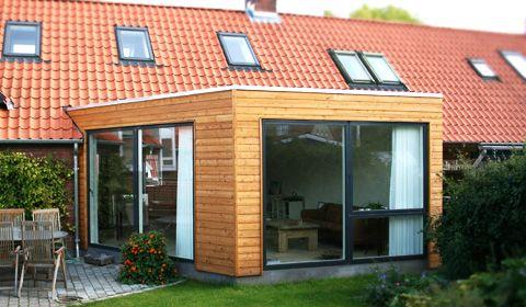 Tilbygning til rækkehus | House | Pinterest | Udestuer, Huse og Inspiration