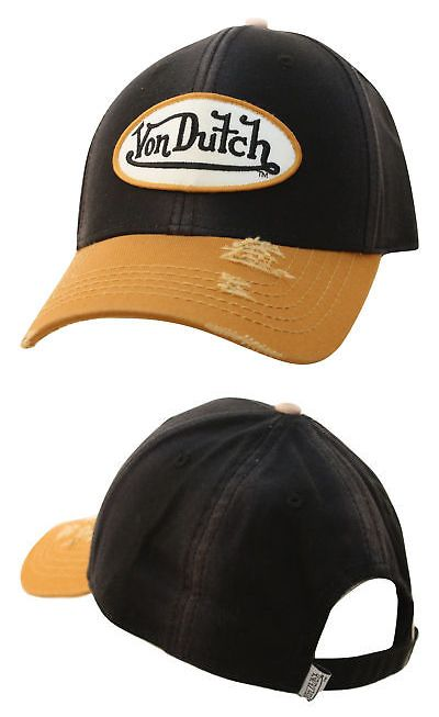 86495783c5416a Hats 57884: Von Dutch Unisex Strapback Dad Hat-One Size -> BUY IT NOW ONLY:  $38.99 on eBay!