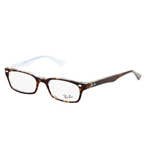 4107d28bc5ef Ray-Ban Womens Tortoise Shell Glasses - RX5150 - Opticians - Boots ...