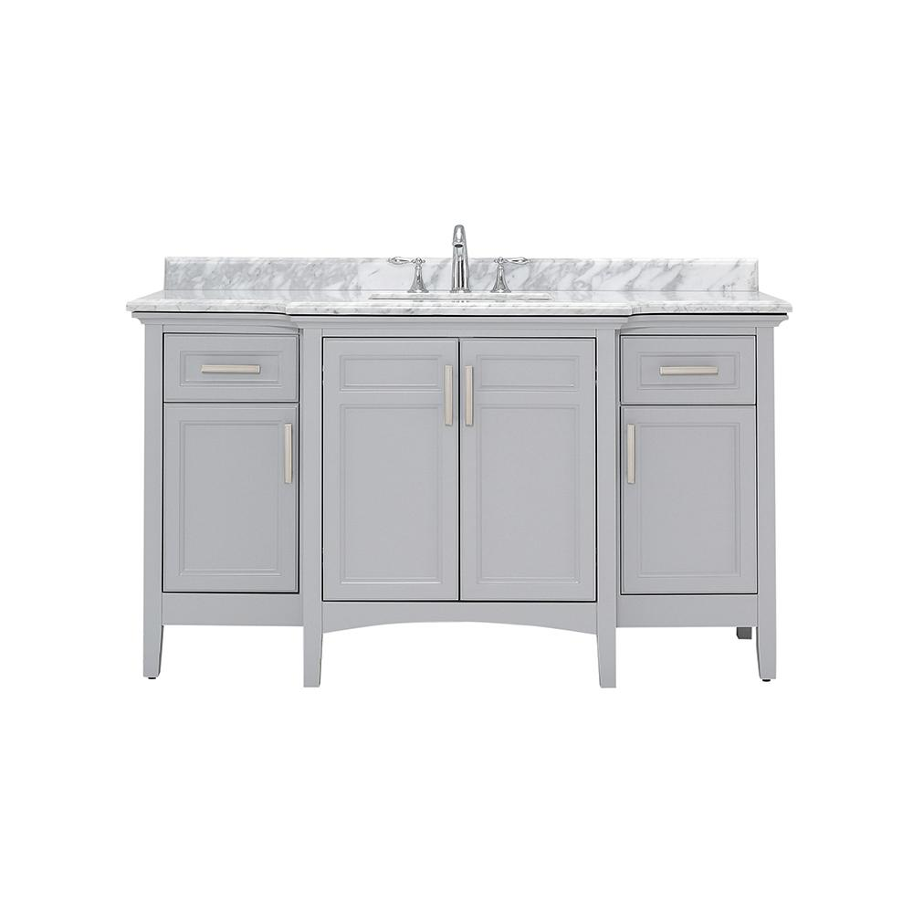 Home Decorators Collection Sassy 60 In W X 22 In D Vanity In