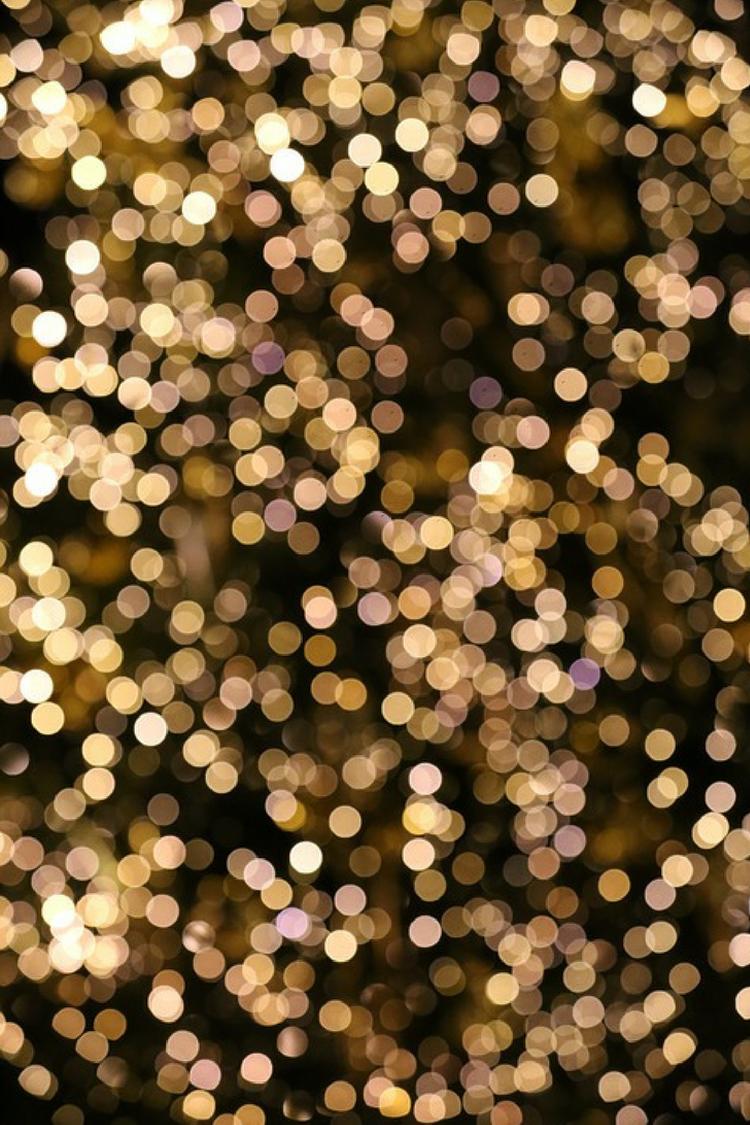 twinkle lights golden black circles glitter tumblr