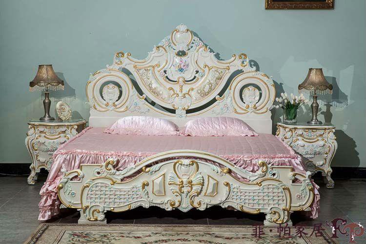 Reproducciones de antigüedades francés muebles tallados muebles de ...