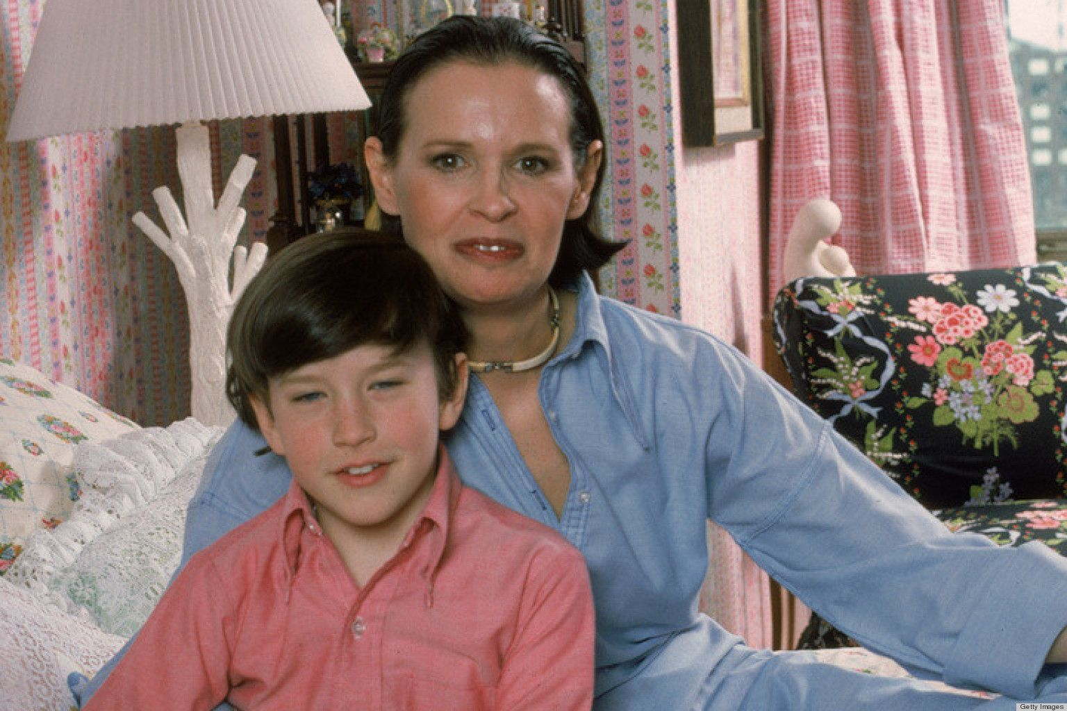 Young Anderson Cooper And His Chic Mother Gloria Vanderbilt Gloria Vanderbilt Gloria Anderson Cooper