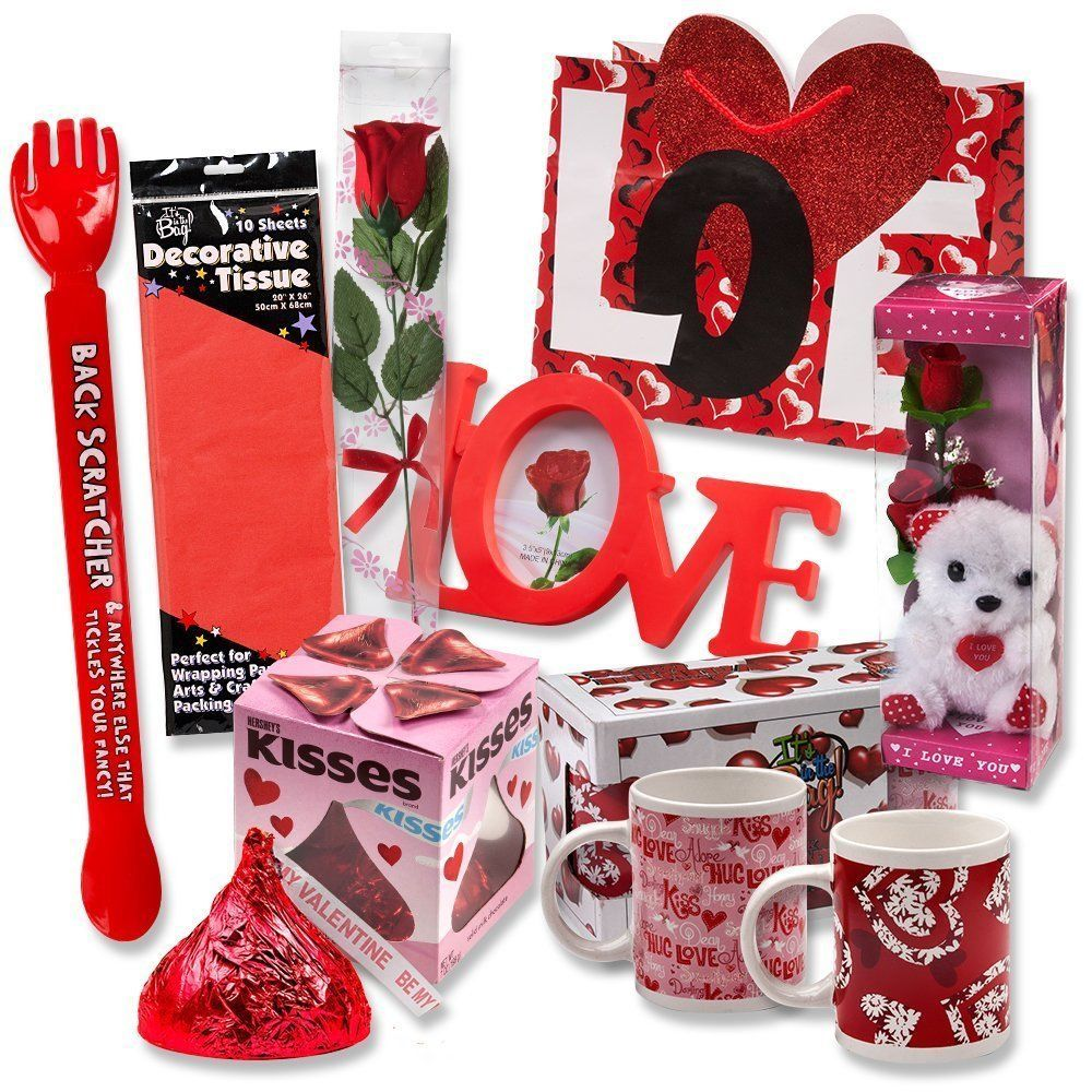 valentines day gift ideas set for him or her complete with gift bag romantic