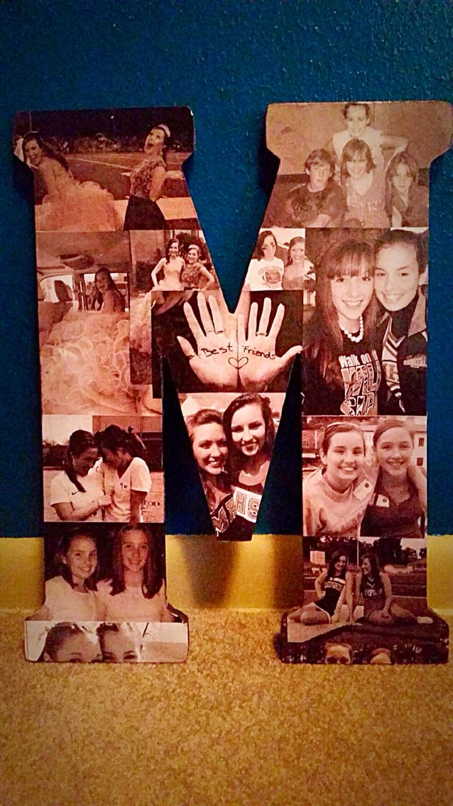 What I Made For My Best Friend Her 18th Birthday Very Easy Gifts To Make Friends And Family