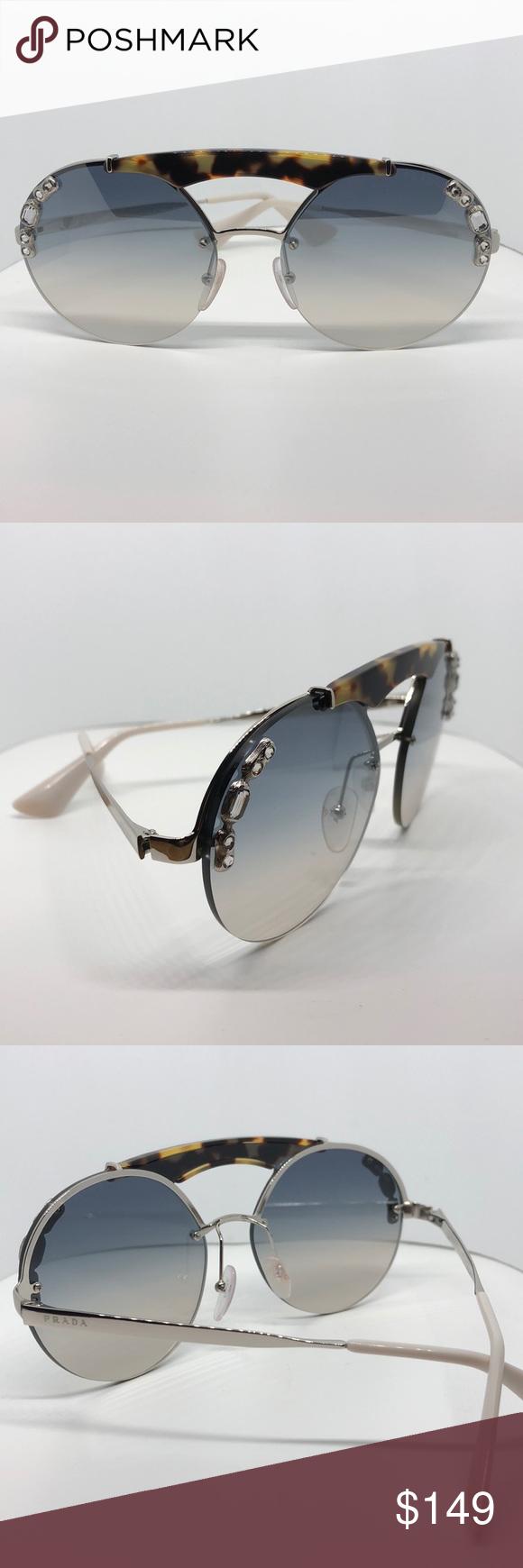 bcbf57b8ad6b Women s Preloved Prada Sunglasses Sunglasses New Prada Sunglasses Women SPR  53U Brown 23C-5R0 SPR53U