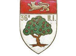 36e Régiment d'Infanterie de Ligne (ou 36e RI) est un régiment d'Infanterie de ligne constitué à la fin de l'Ancien Régime.