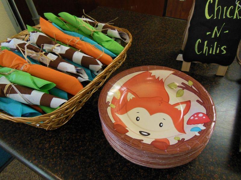 Baby Shower Decor Hobby Lobby ~ Hobby lobby had a nice set of woodland theme party supplies jan