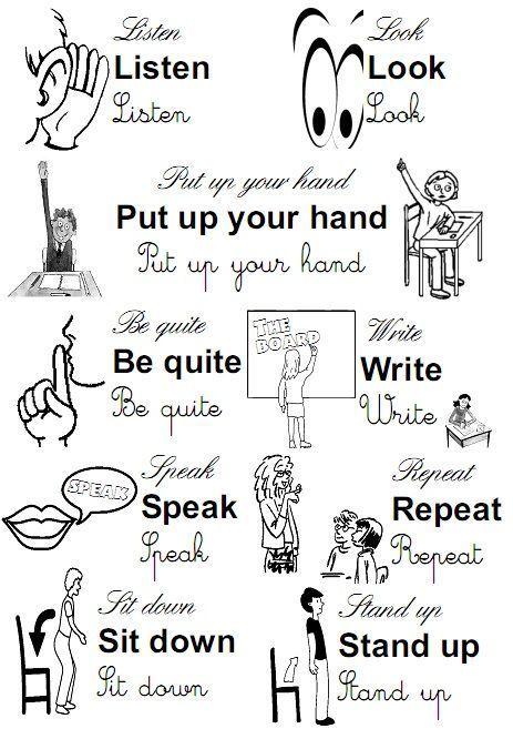 Image result for dibujos de pronombres personales en