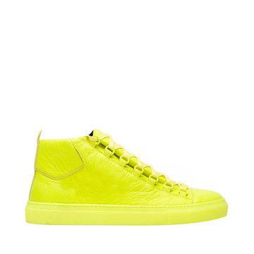 basket louboutin jaune