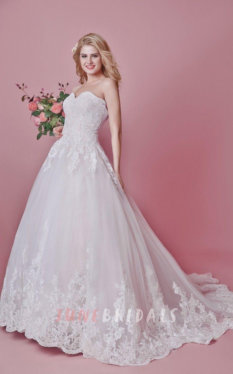 Vintage-inspired Floral Motif Wedding Dress With Train   Pinterest