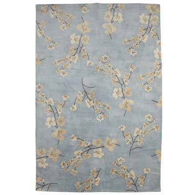 Serena Blossom Rug 6x9 Blue Home Decor Upgrade Rugs