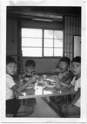 Birthday party in 1965