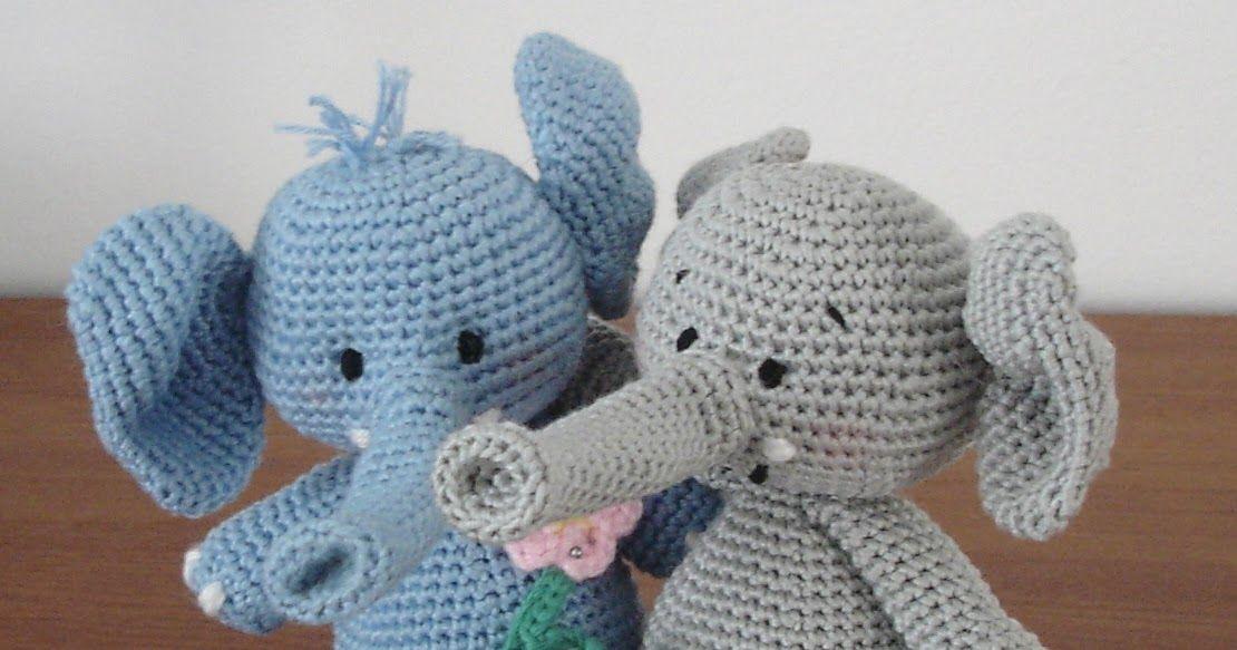 Elefanttierhäkelnanleitung Häkeln Pinterest Crochet