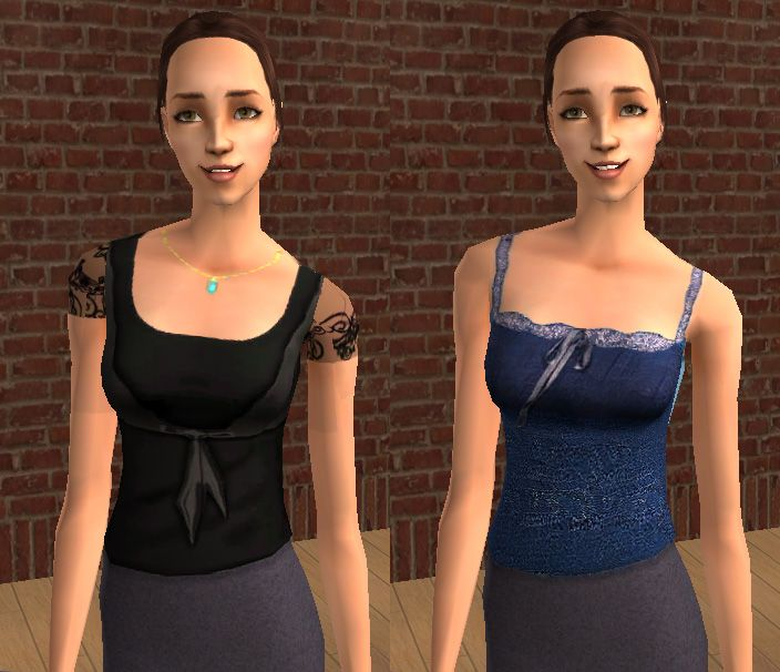 Four more tops for your Charmed ones, as seen on TV.