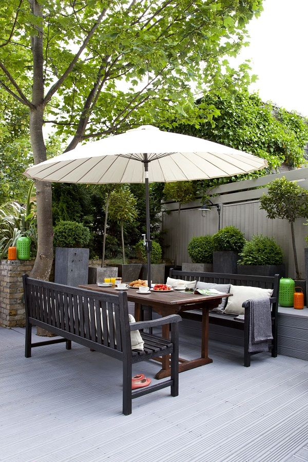 easy ideas for adding colour to the garden - Garden Furniture Colour Ideas
