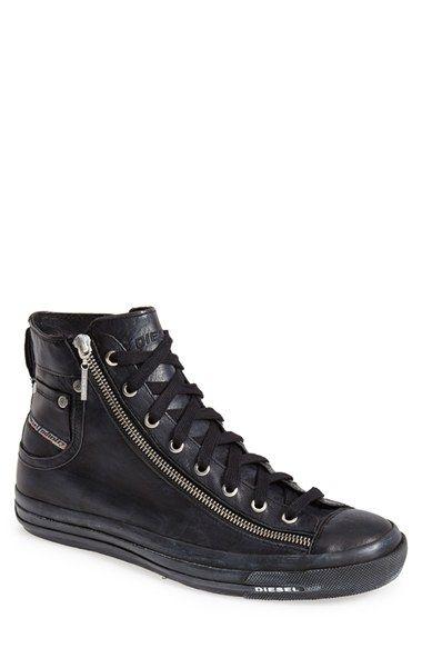 DIESEL® 'Expo-Zip' High Top Sneaker