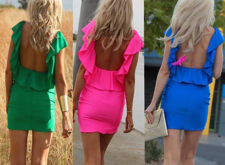 Amazing Collections.. Little jewel toned dresses