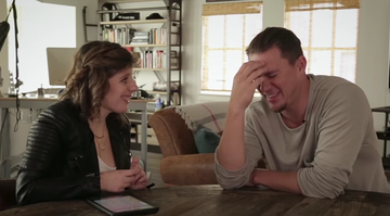 Autistic reporter Carly Fleischmann interviews Channing Tatum and asks ALL the right questions.