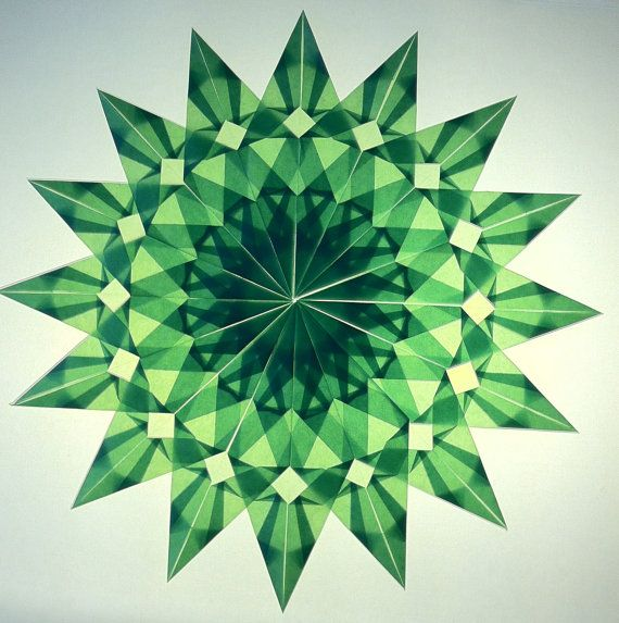 Light Green Window Star Design #4