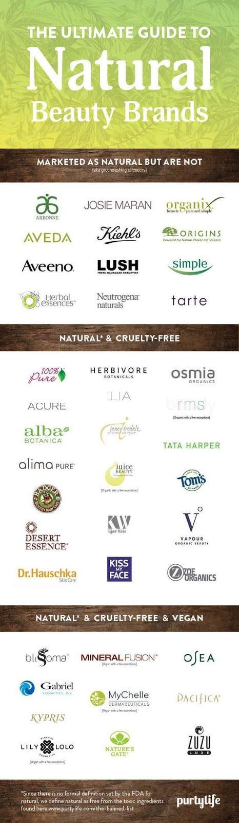 Natural, cruelty free and vegan beauty brands Free belly