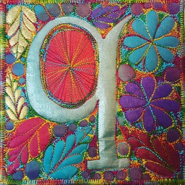 Make your own alphabet letter q quilting applique 1499 make your own alphabet letter q quilting applique 1499 folksy365 spiritdancerdesigns Images