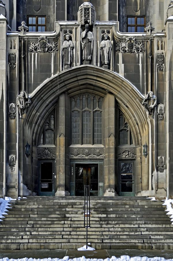 Masonic Temple, downtown Detroit, Michigan. Beautiful building with ...